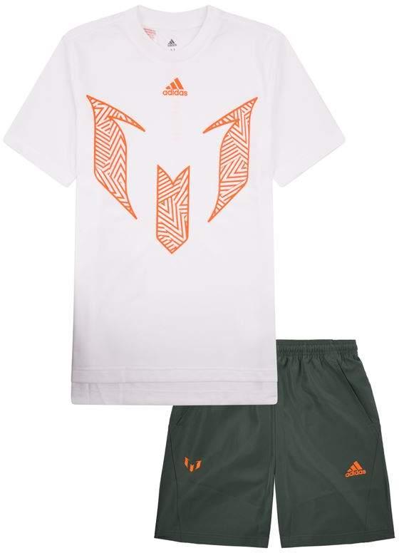 Adidas Messi Top and Shorts Set