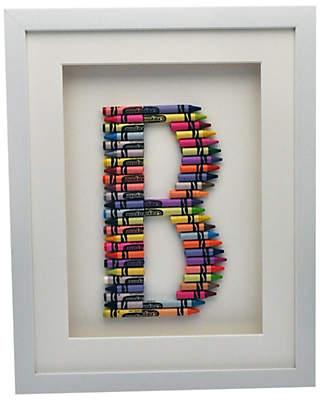The Letteroom Crayon B Framed 3D Artwork, 34 x 29cm