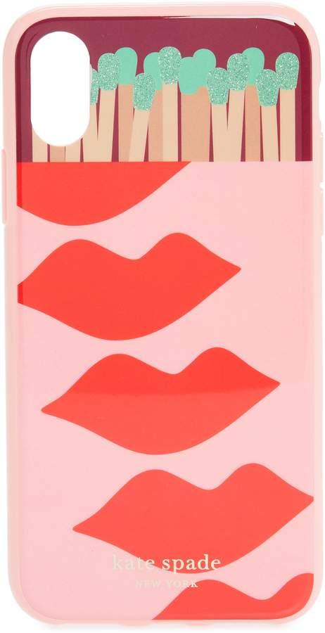 kate spade new york matchbox iPhone X/Xs & XR phone case