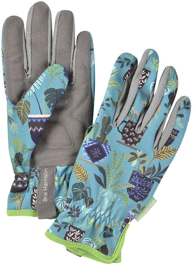 Burgon & Ball - Brie Harrison Gardening Gloves - Blue