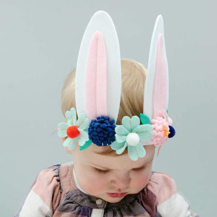 Postbox Party Easter Felt Bunny Rabbit Headband