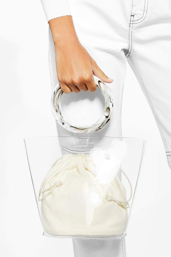 Topshop Womens Mazzy Clear Tpu Mini Grab Bag - Clear