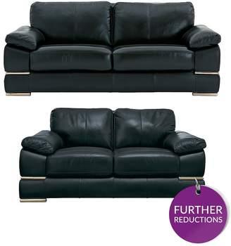 italy leather sofa uk black chaise longue italian furniture shopstyle primo 3 seater 2 set
