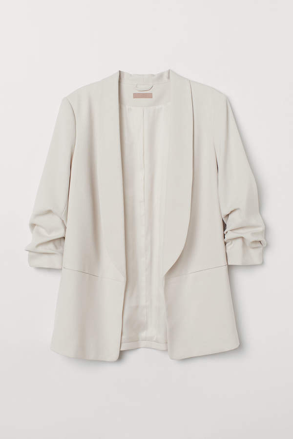 H&M+ Shawl-collar jacket