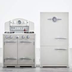 Retro Kids Kitchen Unique Appliances Used Pottery Barn Shopstyle Icebox Oven Set