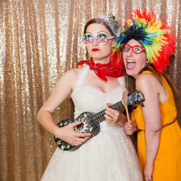 The Sweet Party Shop Sequin Photo Booth Backdrop