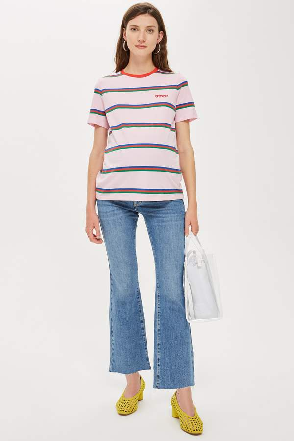Topshop Womens **Maternity Over The Bump Dree Jeans - Mid Stone