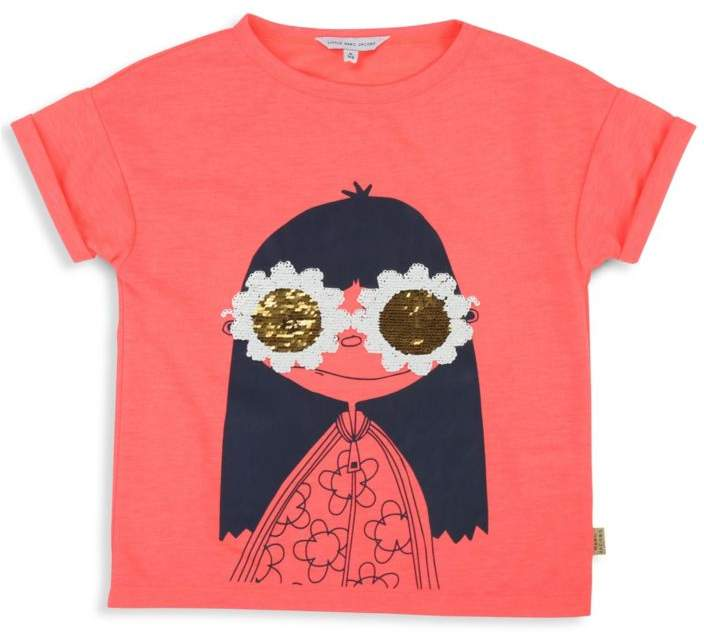 Little Marc Jacobs Little Girl's & Girl's Miss Marc Sequin T-Shirt