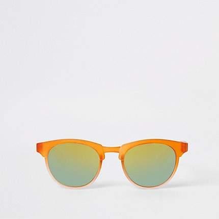Mens Mini boys Orange retro sunglasses