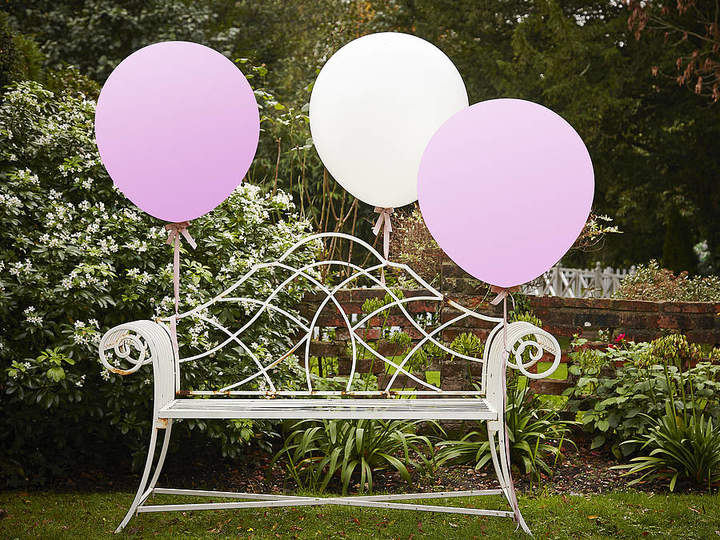 Ginger Ray White And Pink 36 Inch Feature Party Balloons