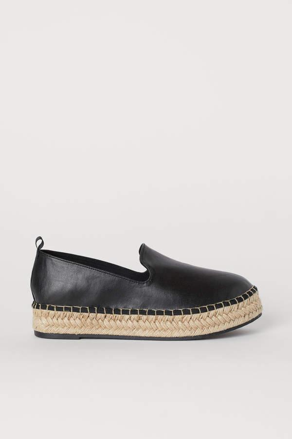 H&M - Platform Espadrilles - Black