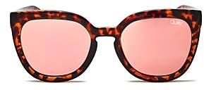 Quay Women's Noosa Cat Eye Sunglasses, 55mm