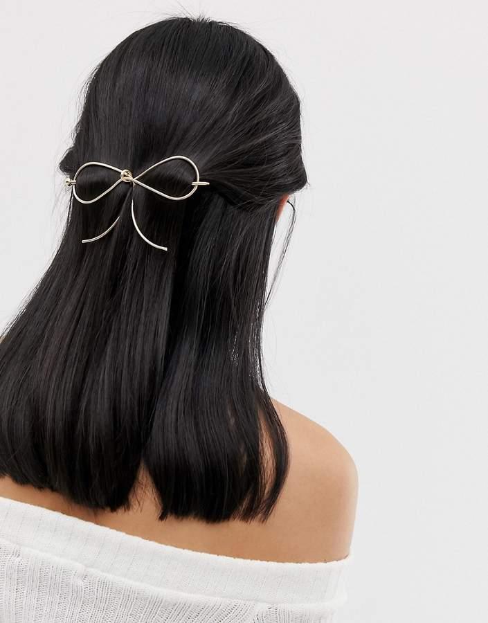 Asos Design ASOS Bow Hair Stick