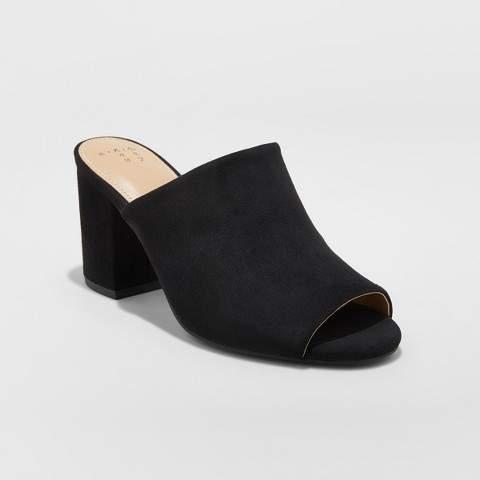 A New Day Women's Didi Block Heel Mules