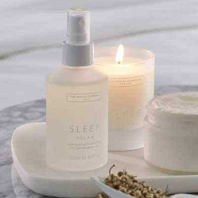 The White Company Sleep Softening Body Oil