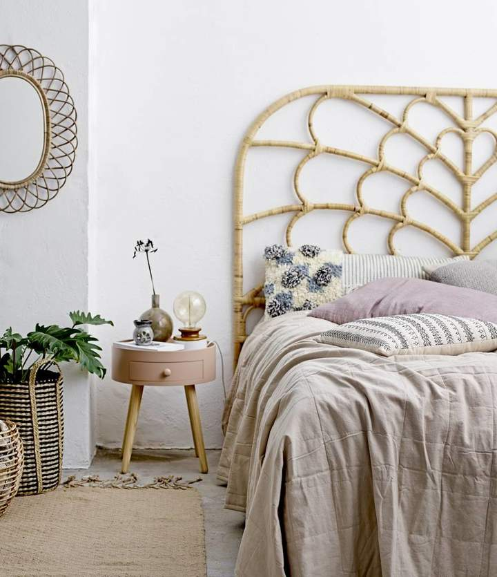 The Forest & Co Rattan Headboard