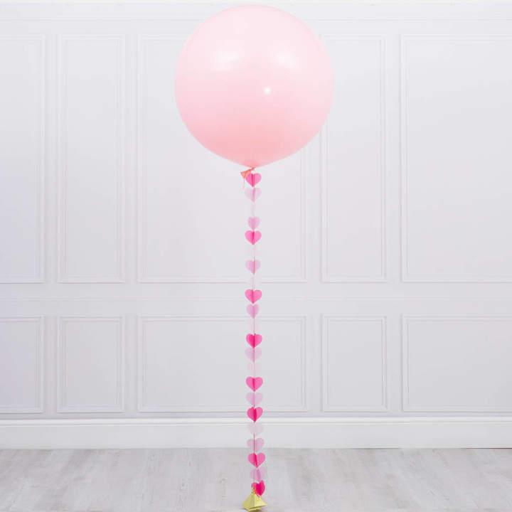 Bubblegum Balloons Princess Heart Tail Giant Balloon