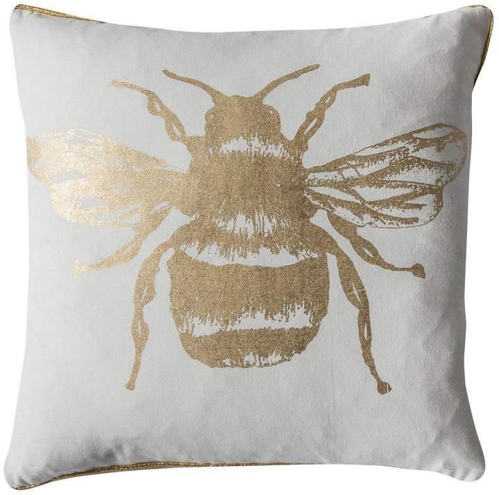 Gallery Metallic Bee Cushion