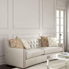 Bernhardt Sofas Tropical Sofa Cushions Shopstyle Karine Tufted Back 96