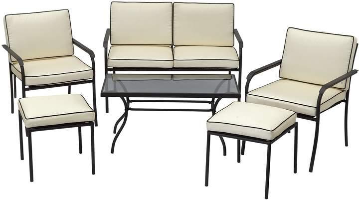 Argos Home Ronda 4 Seater Metal Sofa Set