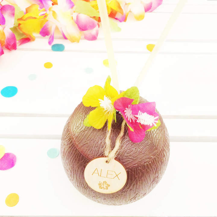 Postbox Party Tropical Coconut Party Cocktail Cup