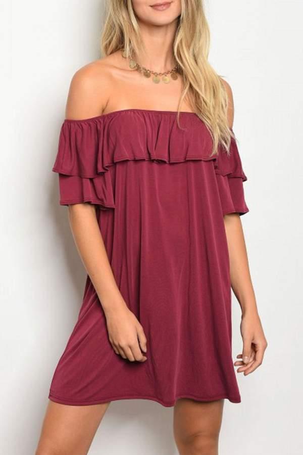 emetla Ruffle Dress