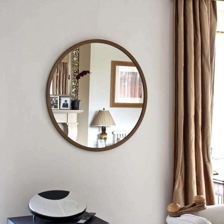 Decorative Mirrors Online Modern Round Mirror Gold, Bronze, Silver, White, Black