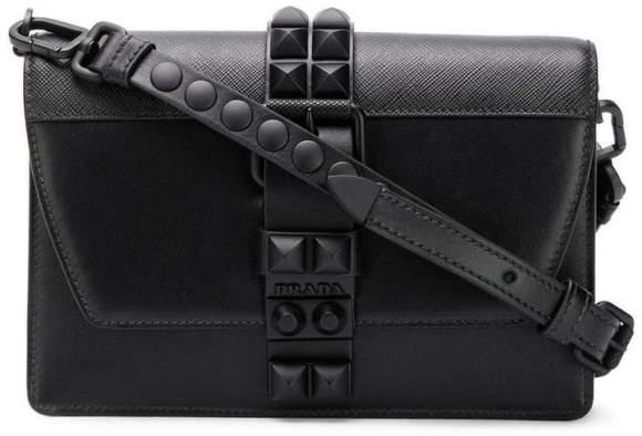Prada Black Elektra Studded Bag