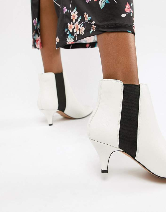 ASOS DESIGN Ramona Kitten Heeled Boots