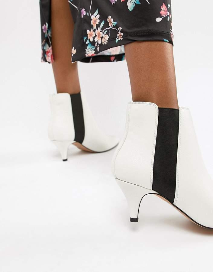 ASOS DESIGN Ramona Kitten Heeled Boots