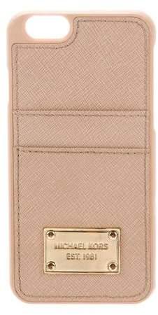 Michael Kors Leather Phone Case