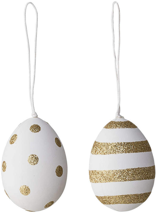Idyll Home Gold Easter Egg Decorations