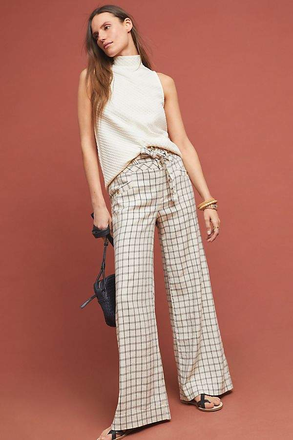 Windowpane Trousers
