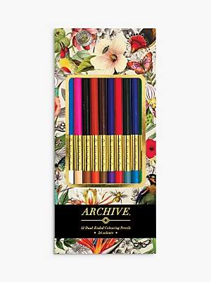 Archive Colouring Pencils, Set of 12
