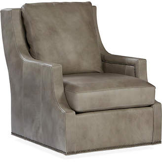 swivel living room chair steakhouse brooklyn ny chairs shopstyle massoud furniture delevan stone leather
