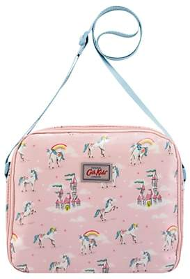 Cath Kidston Cath Kids Children's Unicorns And Rainbows Lunch Bag, Pink