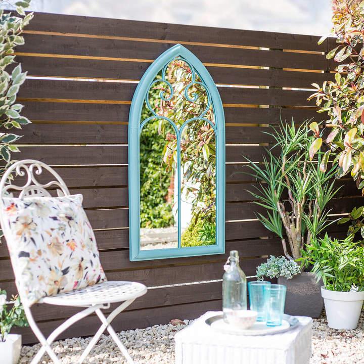 Garden Leisure Decorative Antique Green Mirror