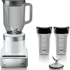 Braun Kitchen Appliances Building A Cabinet Shopstyle At Kohl S Puremix Power Blender With Thermal Resistant Glass Jug Smoothie2go Blending Cups