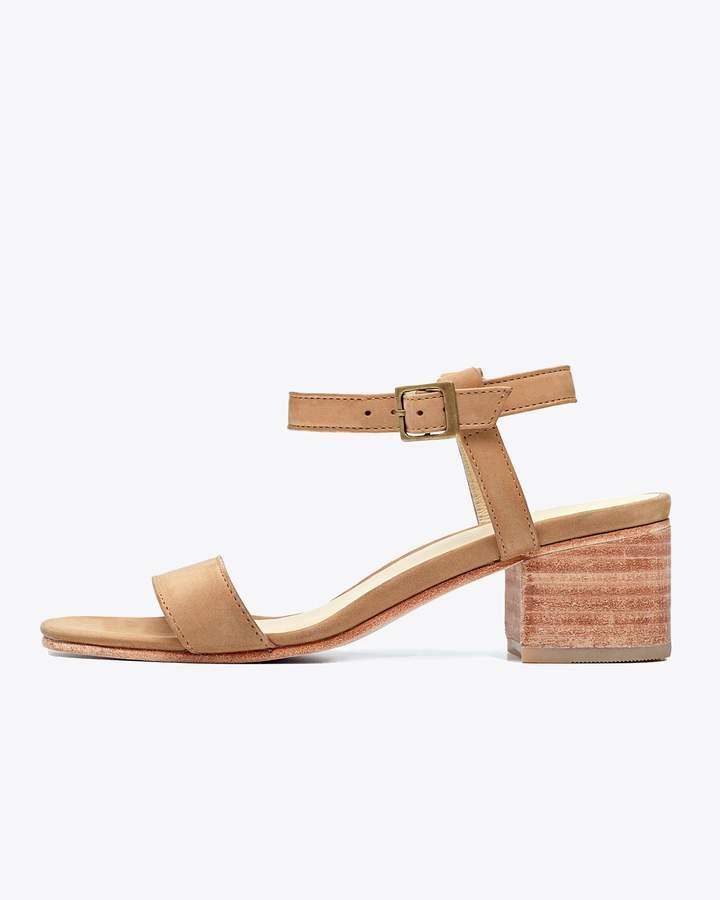 Nisolo Lucia Block Heel Sandal Sand