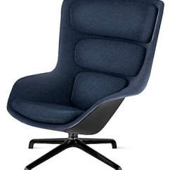 Jens Chair Design Within Reach Folding Rentals Living Room Chairs Shopstyle Herman Miller Striad Lounge High Back Heathered Twilight Black