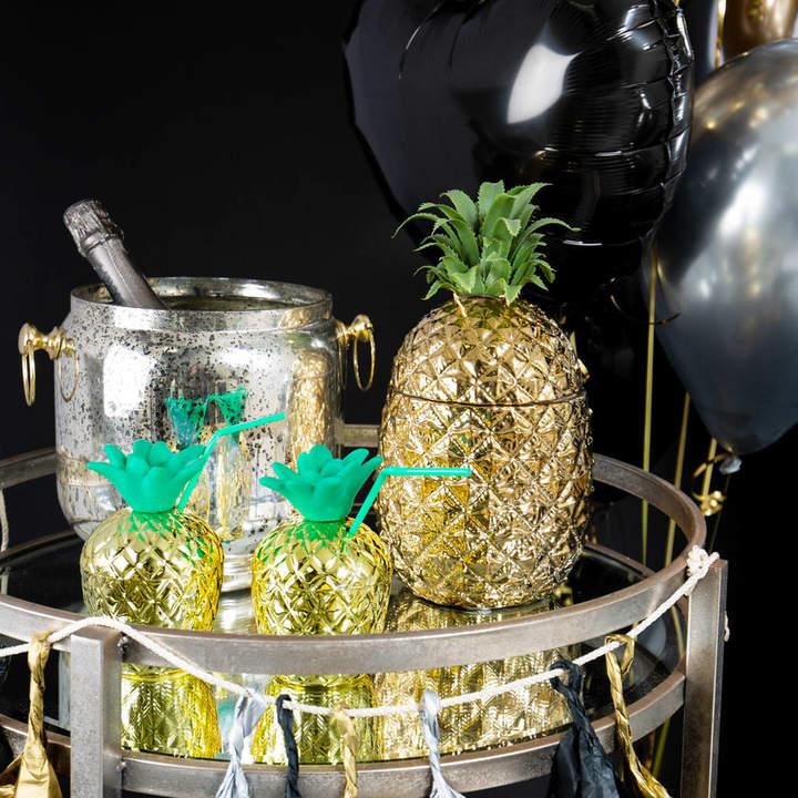 Bubblegum Balloons Pineapple Ice Bucket