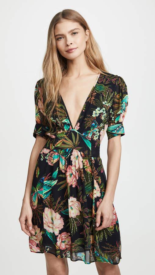 FARM Rio Garden Dreams Dress