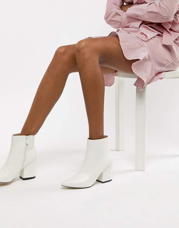 Raid RAID Kola White Ankle Boots