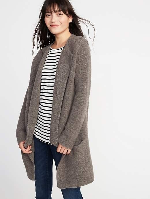 Open-Front Cardi-Coat for Women