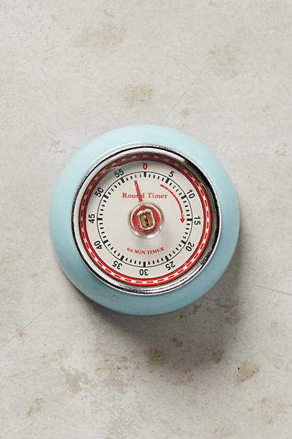 Anthropologie Magnetic Kitchen Timer