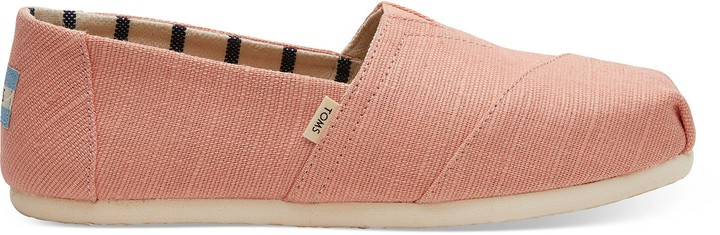Coral Pink Heritage Canvas Women's Classics Venice Collection