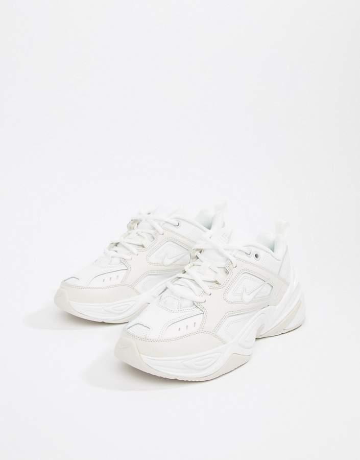 Nike White M2K Tekno Trainers