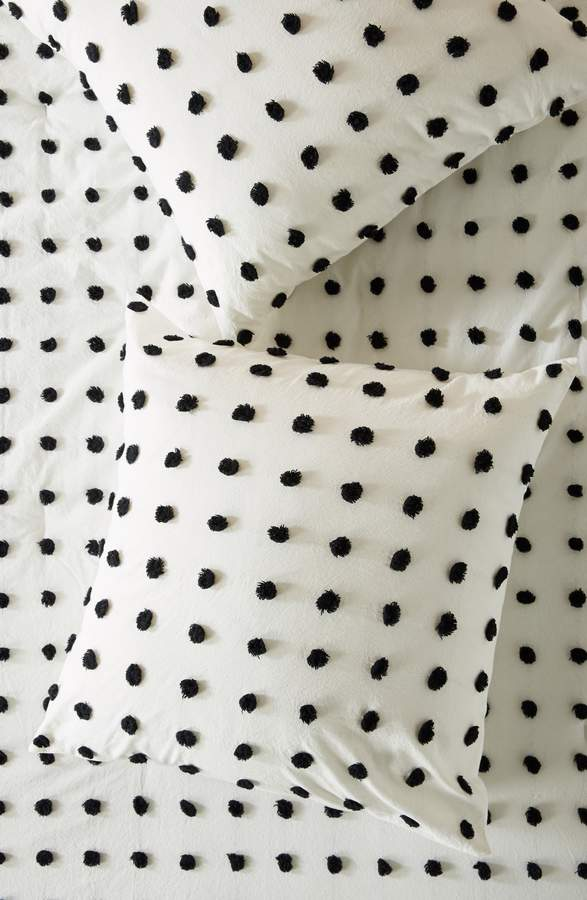 Anthropologie Tufted Makers Euro Sham
