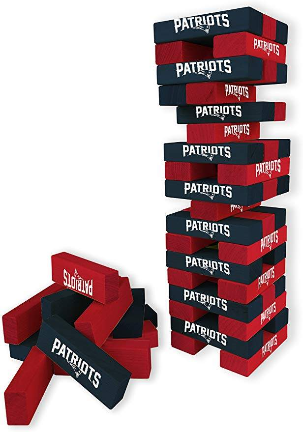 "Wild Sports NFL Table Top Desk Stackers Game, 3"" x 1"" x .5"""