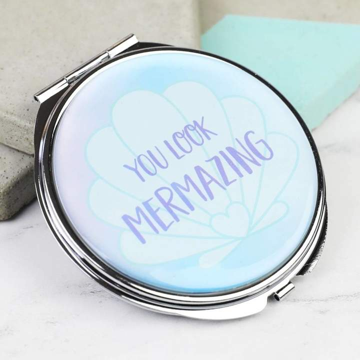 Lisa Angel 'Mermaid Treasures' Compact Mirror